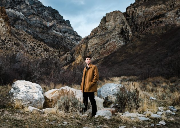 Utah Commercial Portrait Fashion Photographer Men's Fashion Eddie Bauer Outdoors Provo Canyon Rock Canyon Rocky Mountains Outdoors Commercial Nature Photographer