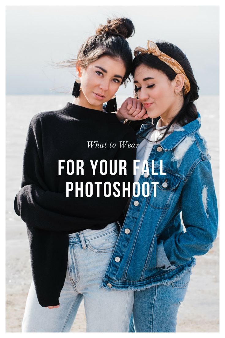 what to wear for your fall photoshoot