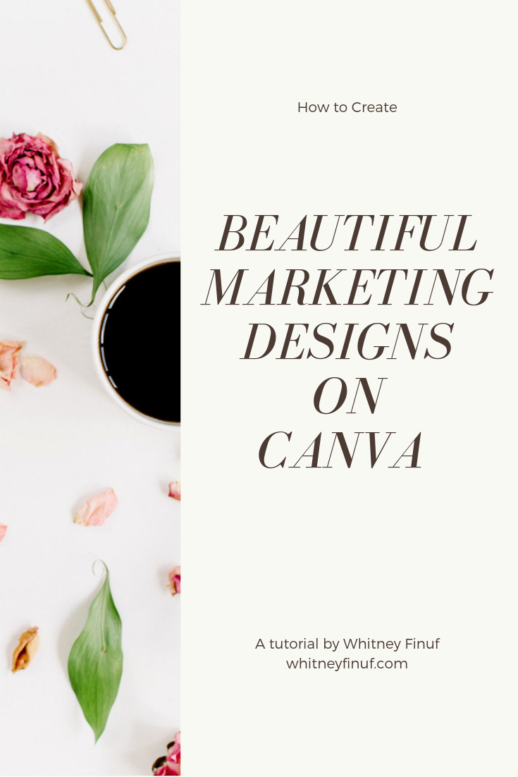 how to use canva to create customized instagram stories and marketing materials for your Utah small business by Whitney Finuf utah commercial photographer